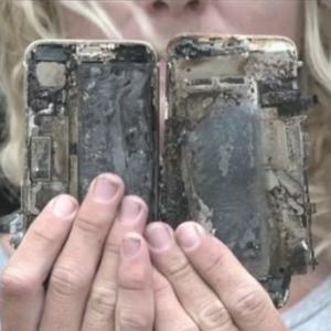 iPhone 7 загорелся и сжег машину в Австралии. Видео