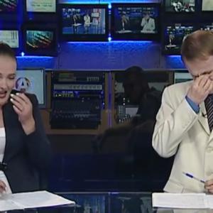 Видеохит: как на самом деле снимают новости. Видео