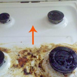 Нанесите ЭТУ смесь и через 15 минут от жира, грязи, пятен не останется и следа!