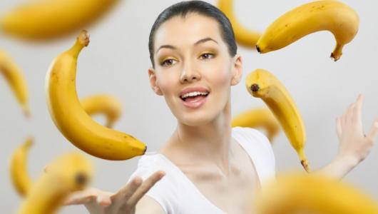 Как бананы влияют на женскую красоту