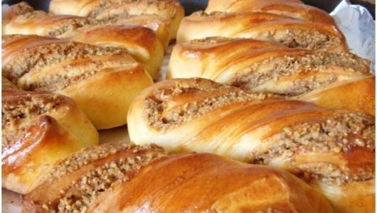 Ореховые булочки. Вкуснятина невероятная.