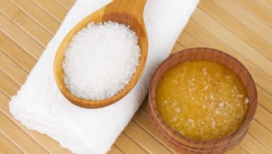 Мед и соль против целлюлита